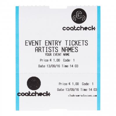 CoatCheck Ticket