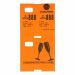 CoatCheck garderobetickets oranje met voucher