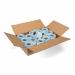 CoatCheck garderobetickets 14 rollen van 325 tickets wit/blauw
