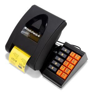 Coatcheck Ticketdrucker mit Tastatur